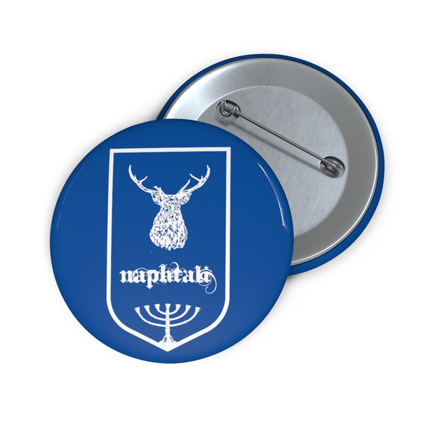 Naphtali Tribes of Israel Jewish Custom Pin Buttons