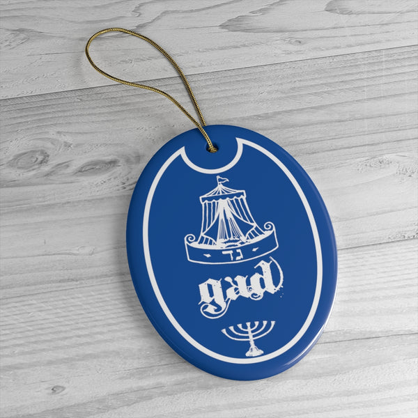 Gad Tribes of Israel Ceramic Ornaments-Art & Wall Decor, Home & Living-Etsy-TrumpVaderStore-TheWorlddiscountstore