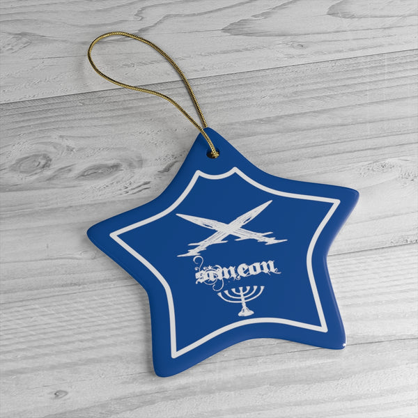 Simeon Tribes of Israel Ceramic Ornaments-Art & Wall Decor, Home & Living-Etsy-TrumpVaderStore-TheWorlddiscountstore