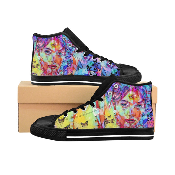 Mens High-top Sneakers Indian Princes-All Over Print, Men's Clothing, Shoes-Etsy-TrumpVaderStore-TheWorlddiscountstore