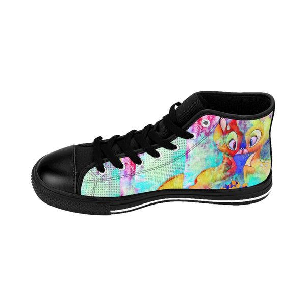 Pop Star15 Men's High-top Sneakers-worlddiscountstore