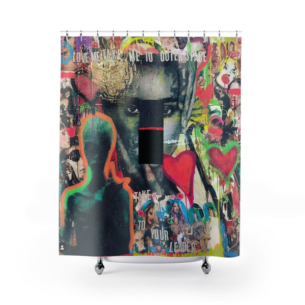 Shower Curtain Area 51 Ebe-All Over Print, Bathroom, Home & Living-Etsy-TrumpVaderStore-TheWorlddiscountstore