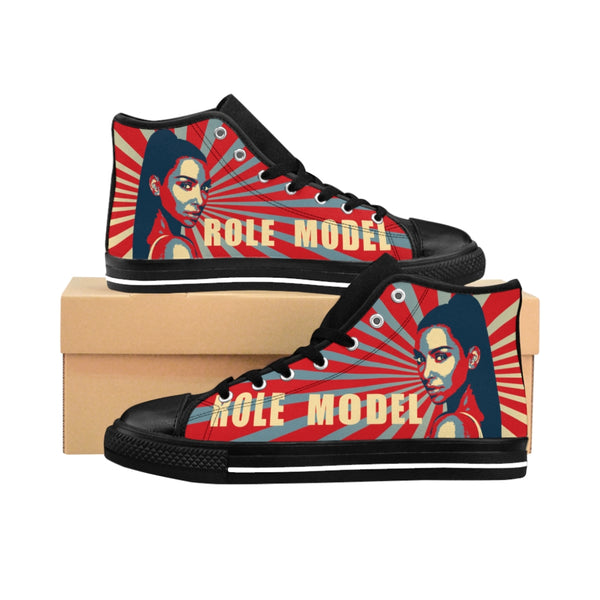 Role Model KimK3 Women's High-top Sneakers-worlddiscountstore