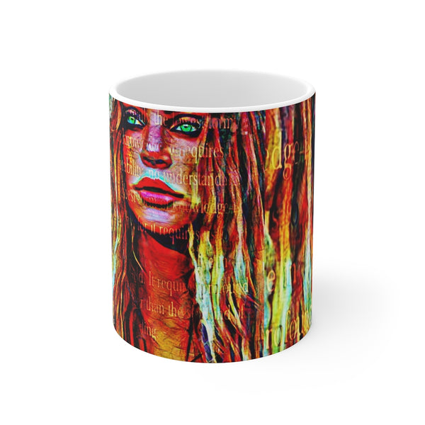 Britney Spears White Ceramic 11oz Mug-Home & Living, Mugs, Sublimation, White base-Etsy-TrumpVaderStore-TheWorlddiscountstore