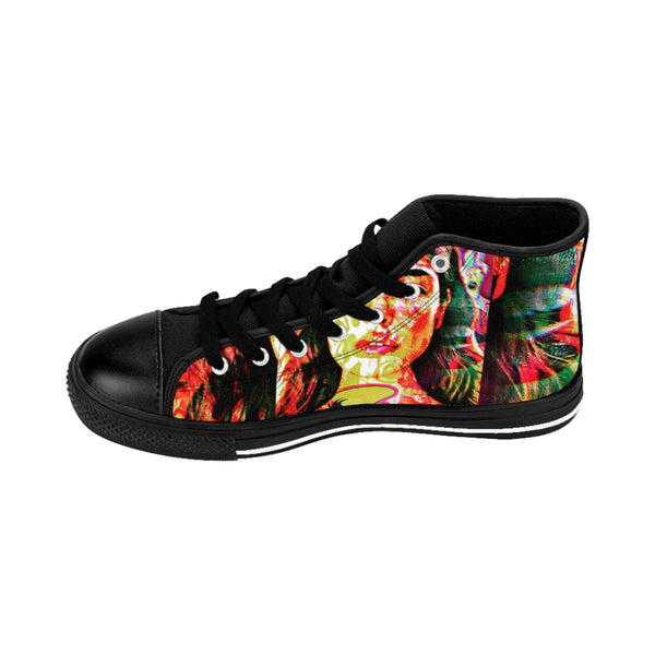 Womens High-top Sneakers Mexican Goddess-All Over Print, Shoes, Women's Clothing-Etsy-TrumpVaderStore-TheWorlddiscountstore
