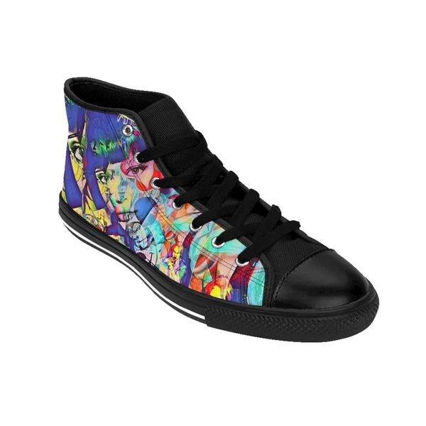 Taylor Swift Womens High-top Sneaker-All Over Print, Shoes, Women's Clothing-Etsy-TrumpVaderStore-TheWorlddiscountstore