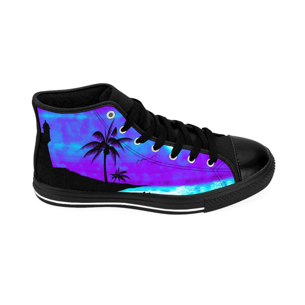 San Juan Sunset Sneakers Women's Purple High-top Nylon