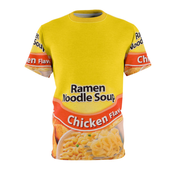Ramen Noodle Soup Unisex Full Print Unisex Tee-All Over Print, AOP Clothing, Crew neck, Men's Clothing, T-shirts, Unisex, Women's Clothing-Etsy-TrumpVaderStore-TheWorlddiscountstore
