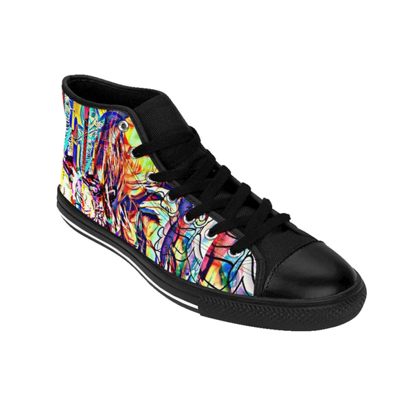 Pop Star29 Women's High-top Sneakers-worlddiscountstore