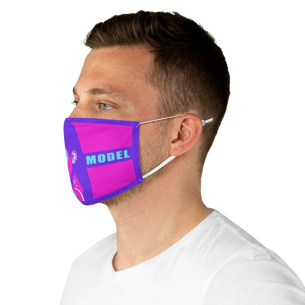 Fabric Face Mask Kim Kardashian Role Model Pink-Accessories, face mask, mask, Other, Unisex-Etsy-TrumpVaderStore-TheWorlddiscountstore