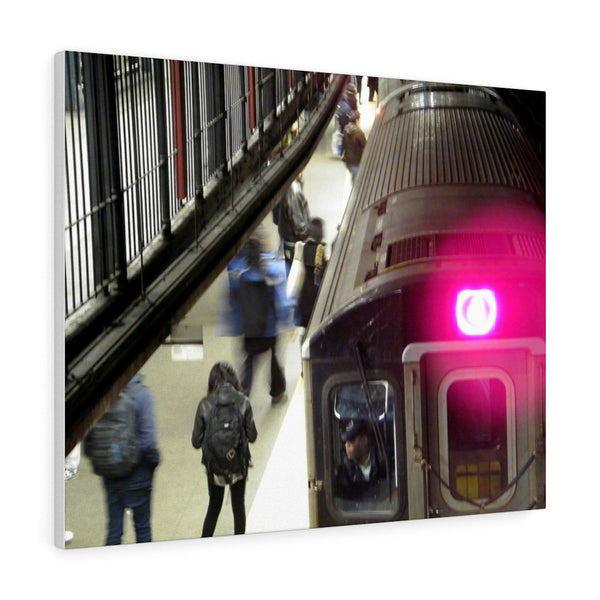 NYC Subway Canvas Gallery Wraps Cotton fabric High Quality