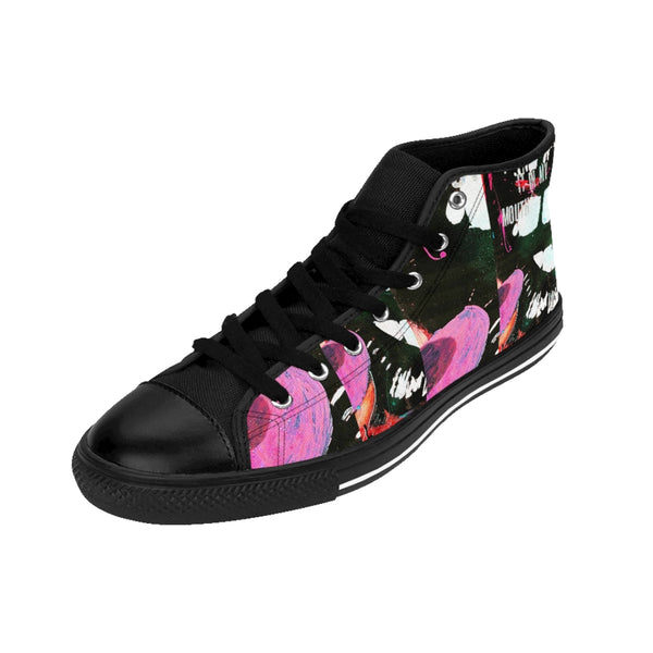 Womens High-top Sneakers Put it in my Mouth-All Over Print, Shoes, Women's Clothing-Etsy-TrumpVaderStore-TheWorlddiscountstore