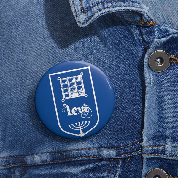Levi Tribes of Israel Jewish Custom Pin Buttons