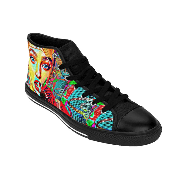 Men's High-top Sneakers Russian Ex-All Over Print, Men's Clothing, Shoes-Etsy-TrumpVaderStore-TheWorlddiscountstore