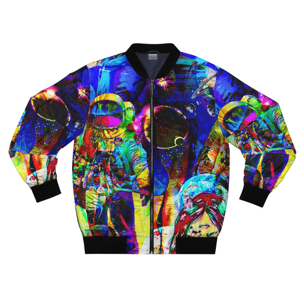 Nasa Spaceman Astronaut Bomber Jacket