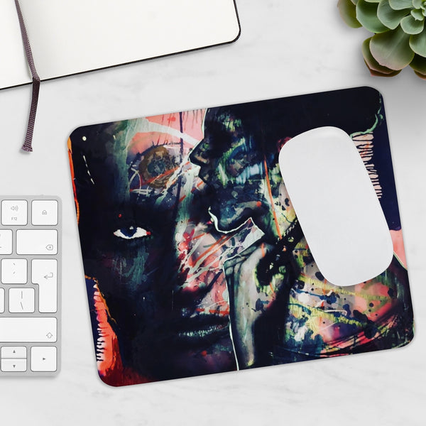Two face Graffiti Mouse pad-Home & Living, Stationery-Etsy-TrumpVaderStore-TheWorlddiscountstore
