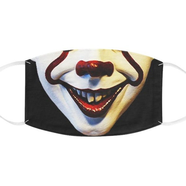 Halloween Pennywise IT Like Fabric Face Mask-Accessories, face mask, Fall Bestsellers, mask, Other, Unisex-Etsy-TrumpVaderStore-TheWorlddiscountstore