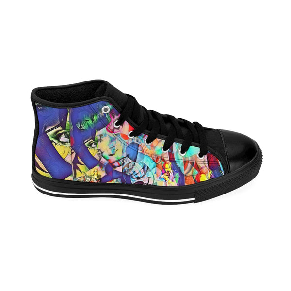 Pop Star45 Men's High-top Sneakers-worlddiscountstore