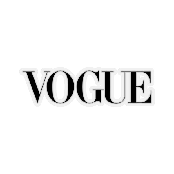 VOGUE Magazine Logo Kiss-Cut Stickers-Home & Living, Stickers-Etsy-TrumpVaderStore-TheWorlddiscountstore