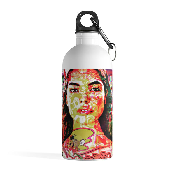 India Beauty Inspired Stainless Steel Water Bottle