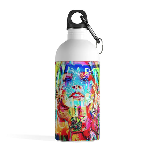 Scream & Shout Britney Stainless Steel Water Bottle