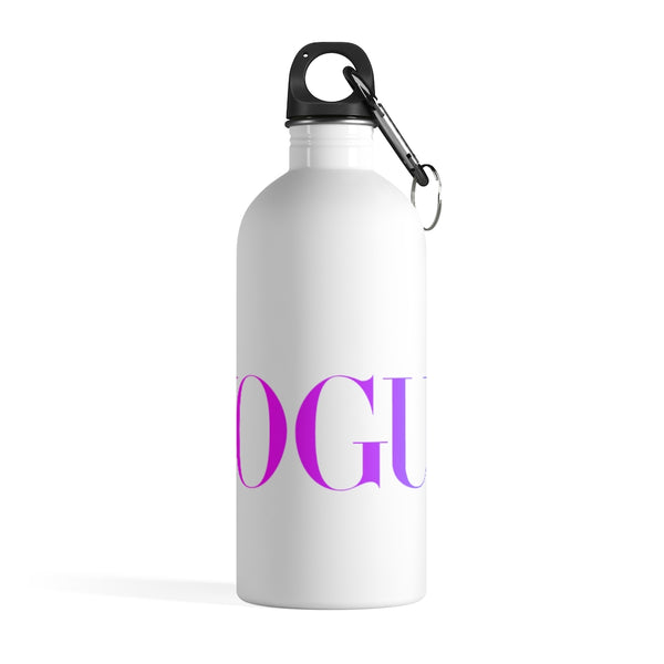 Purple Vogue Inspired Stainless Steel Water Bottle