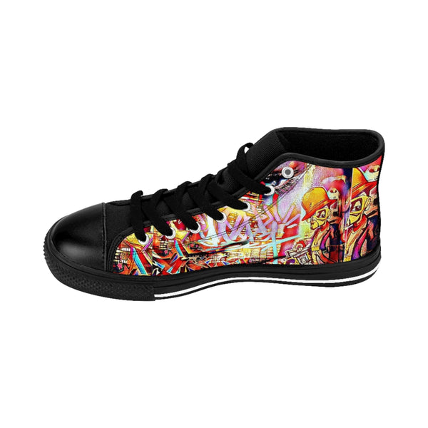 Men's High-top Sneakers Beyonce-All Over Print, Men's Clothing, Shoes-Etsy-TrumpVaderStore-TheWorlddiscountstore