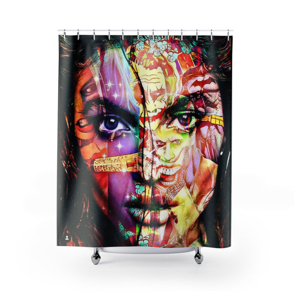 Shower Curtain Beauty Witch-All Over Print, Bathroom, Home & Living-Etsy-TrumpVaderStore-TheWorlddiscountstore