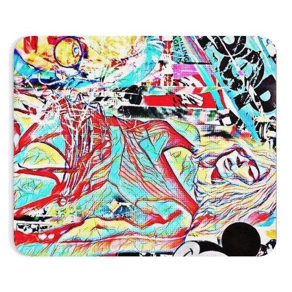 Warhol Girls Club Mousepad