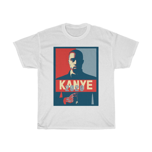 Kanye West for President 2020 Elections T-Shirt-Crew neck, DTG, Men's Clothing, Regular fit, T-shirts, Top Spring Products, Unisex, Women's Clothing-Etsy-TrumpVaderStore-TheWorlddiscountstore