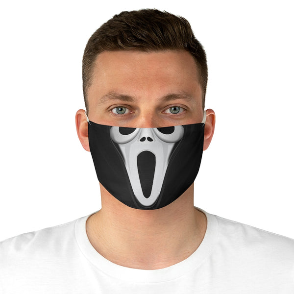 Halloween Scream Movie Like Fabric Face Mask-Accessories, face mask, Fall Bestsellers, mask, Other, Unisex-Etsy-TrumpVaderStore-TheWorlddiscountstore