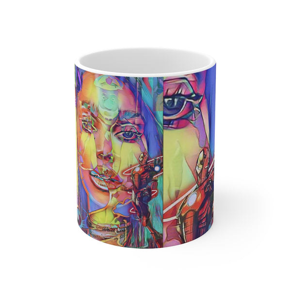 Third Eye 2 White Ceramic 11oz Mug-Home & Living, Mugs, Sublimation, White base-Etsy-TrumpVaderStore-TheWorlddiscountstore