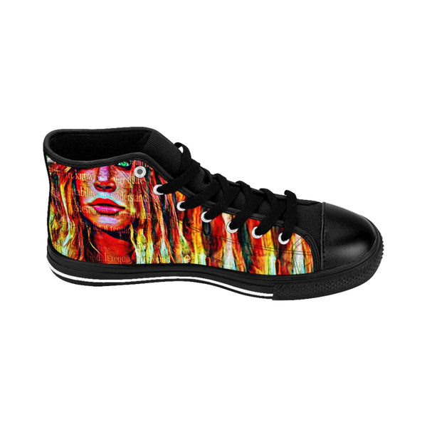 Womens High-top Sneakers Britney Spears-All Over Print, Shoes, Women's Clothing-Etsy-TrumpVaderStore-TheWorlddiscountstore