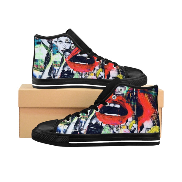 Pop Star33 Women's High-top Sneakers-worlddiscountstore