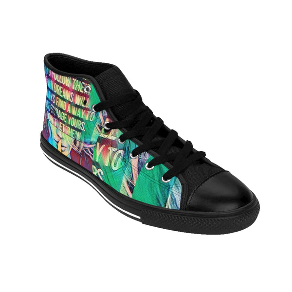 Pop Star5 Men's High-top Sneakers-worlddiscountstore