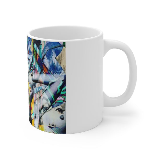 Kate Moss 3 White Ceramic 11oz Mug-Home & Living, Mugs, Sublimation, White base-Etsy-TrumpVaderStore-TheWorlddiscountstore
