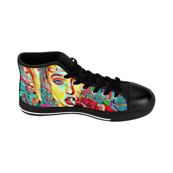 Pop Star23 Women's High-top Sneakers-worlddiscountstore