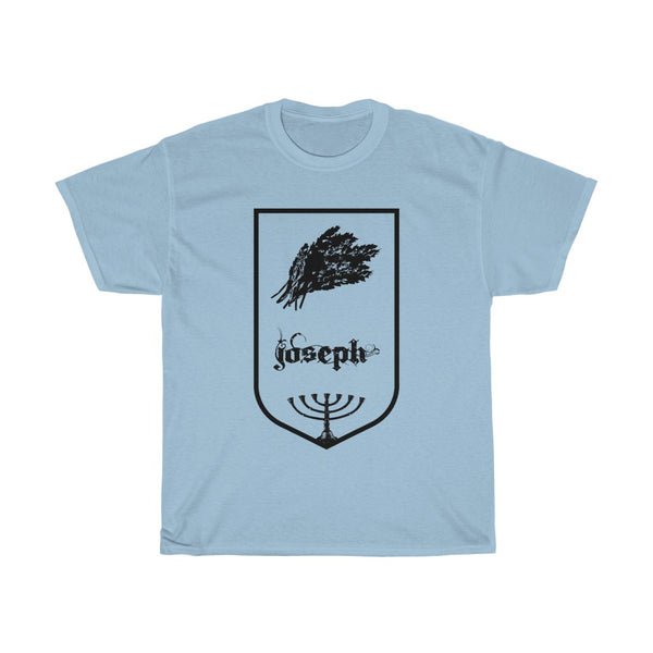 Tribes of Israel Joseph-T-Shirt-Made in USA-Free Fast Shipping - at TheWorldDiscountStore.com