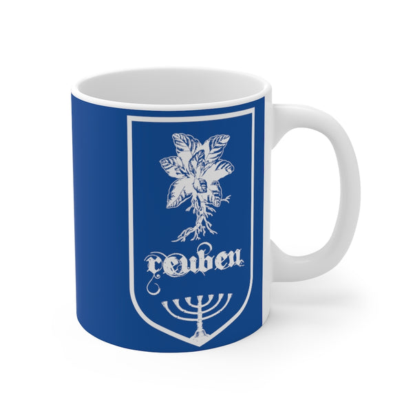 Coffee Mug Reuben Tribe Of Israel-Home & Living, Mugs, Sublimation, White base-Etsy-TrumpVaderStore-TheWorlddiscountstore
