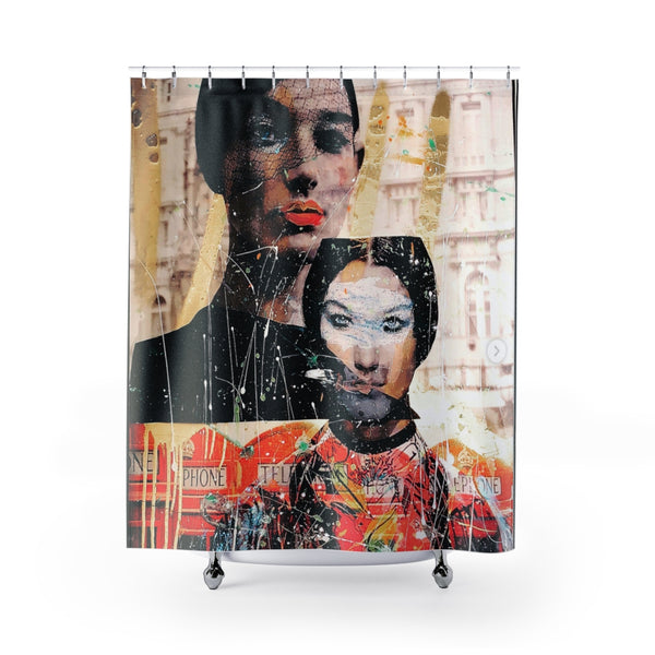 Shower Curtain Frida Kahlo Camilla Cabello-All Over Print, Bathroom, Home & Living-Etsy-TrumpVaderStore-TheWorlddiscountstore
