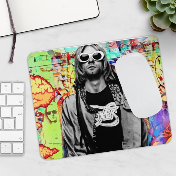 Nirvana Kurt Cobain Song Neoprene Mousepad