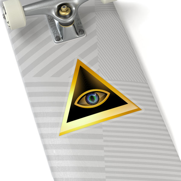 All Seeing Eye 1 Kiss-Cut Stickers-Home & Living, Stickers-Etsy-TrumpVaderStore-TheWorlddiscountstore