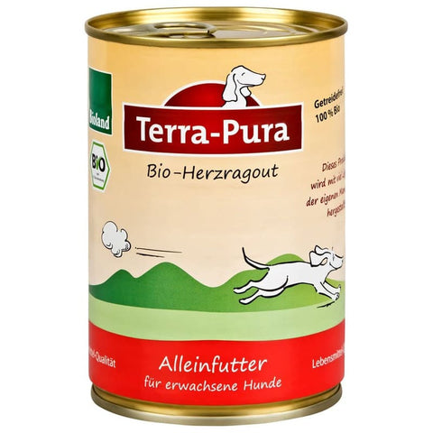 Bioland Herzragout 12 x 400 gr Dosen - Pet Feels Good Graf