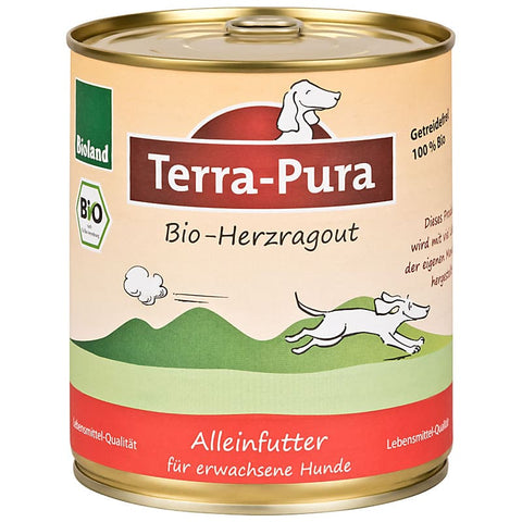 Bioland Herzragout 6 x 800 gr Dosen - Pet Feels Good Graf