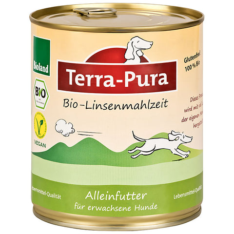 Bio Linsenmahlzeit 6 x 750 gr Dosen - Pet Feels Good Graf