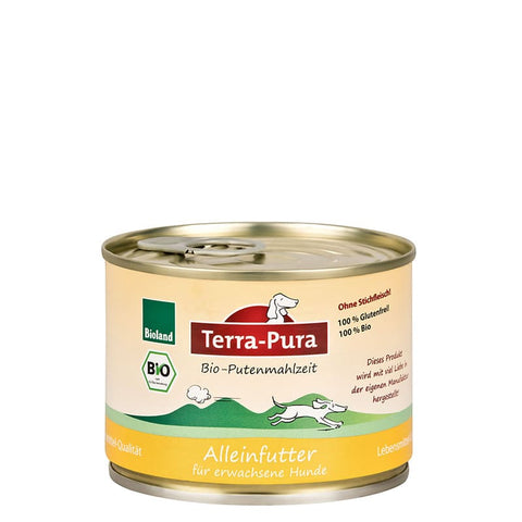 Bioland Putenmahlzeit 24 x 200 gr Dosen - Pet Feels Good Graf