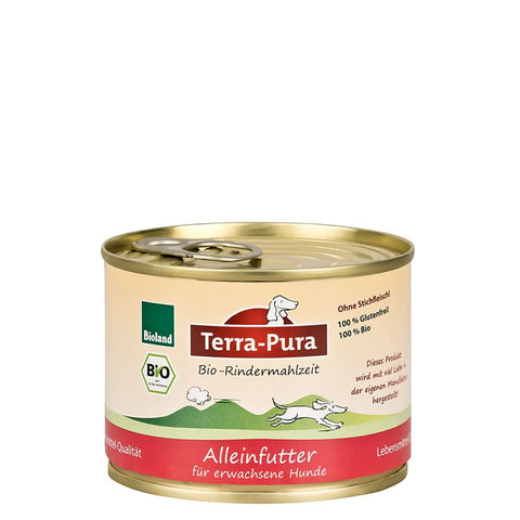 Bioland Rindermahlzeit 24 x 200 gr Dosen - Pet Feels Good Graf