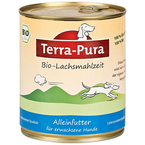 Bio Lachsmahlzeit 6 x 800 gr Dosen - Pet Feels Good Graf