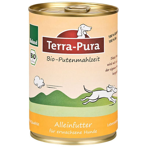 Bioland Putenmahlzeit 12 x 400 gr Dosen - Pet Feels Good Graf