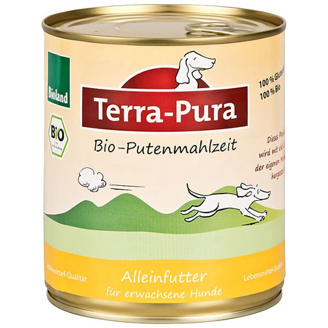 Bioland Putenmahlzeit 6 x 800 gr Dosen - Pet Feels Good Graf